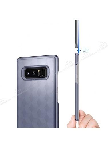 Samsung Note8 Orchıd Gray Kılıf Gri